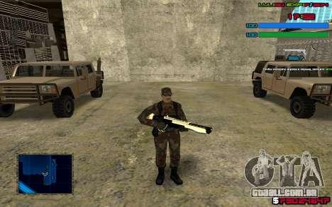 C-HUD by SampHack v.7 para GTA San Andreas terceira tela
