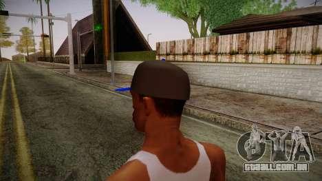 Storm Freerun Cap para GTA San Andreas segunda tela
