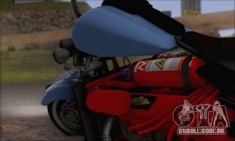 Boss Hoss v8 8200cc para GTA San Andreas vista traseira