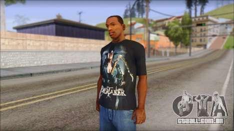 Undertaker T-Shirt v2 para GTA San Andreas