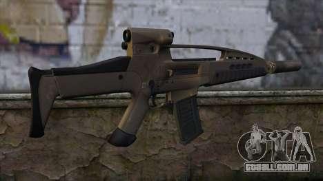 XM8 Assault Dust para GTA San Andreas segunda tela
