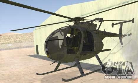 MH-6 Little Bird para GTA San Andreas