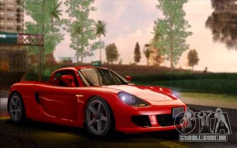SA Ultimate Graphic Overhaul 1.0 Fix para GTA San Andreas por diante tela