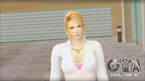Sarah from Dead or Alive 5 v1 para GTA San Andreas terceira tela