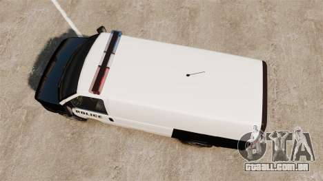 Vapid Speedo Los Santos Police [ELS] para GTA 4 vista direita