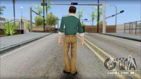 Constantinos from Bully Scholarship Edition para GTA San Andreas terceira tela