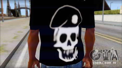 The Expendables Fan T-Shirt v1 para GTA San Andreas terceira tela