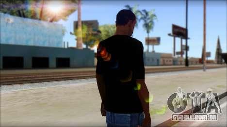 Max Cavalera T-Shirt v2 para GTA San Andreas segunda tela
