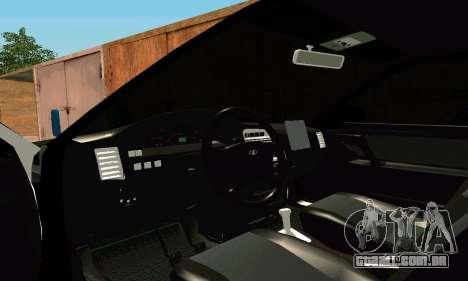 VAZ 21123 Turbo para GTA San Andreas vista interior