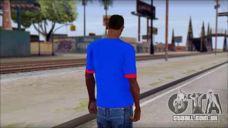 Superman T-Shirt v1 para GTA San Andreas segunda tela
