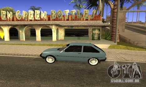 ZAZ Tavria para GTA San Andreas traseira esquerda vista