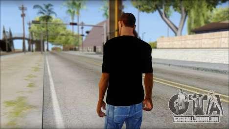 WWE Logo T-Shirt mod v2 para GTA San Andreas segunda tela