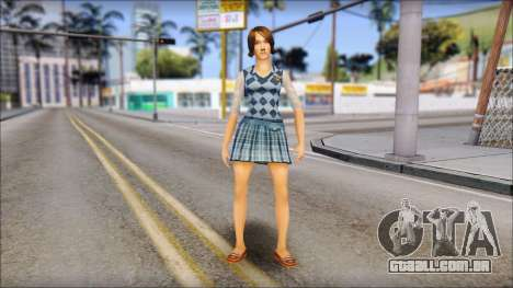 Pinky from Bully Scholarship Edition para GTA San Andreas segunda tela