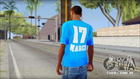 Thai Suckseed T-Shirt para GTA San Andreas segunda tela
