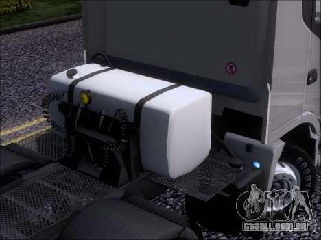 Iveco Stralis HiWay 560 E6 8x4 para GTA San Andreas vista inferior