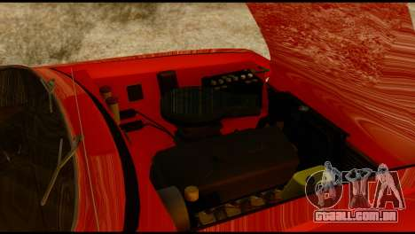 Moskvich U para GTA San Andreas vista superior