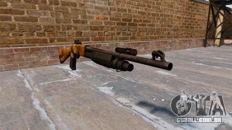 Ружье Benelli M3 Super 90 elite para GTA 4