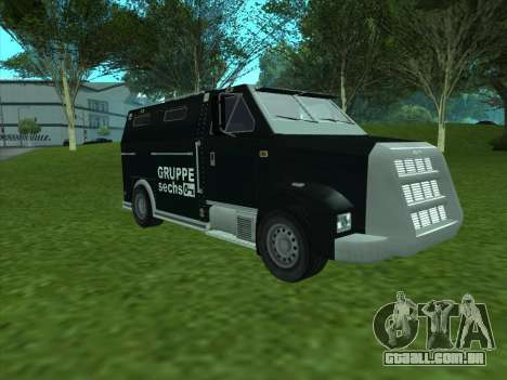 Securicar из GTA 3 para GTA San Andreas esquerda vista