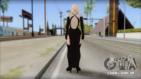 Rachel from Resident Evil Revelations para GTA San Andreas segunda tela
