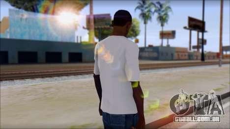 Adio T-Shirt para GTA San Andreas segunda tela