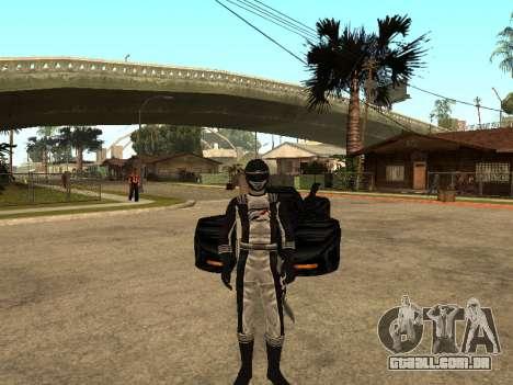 Power Rangers Operation Overdrive para GTA San Andreas quinto tela