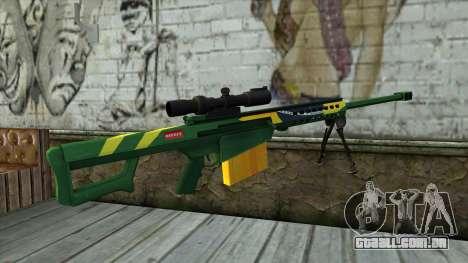 M82A3 Brazil Camo para GTA San Andreas segunda tela