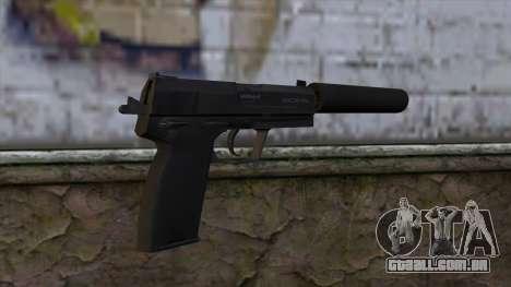 USP-S from CS:GO v2 para GTA San Andreas segunda tela