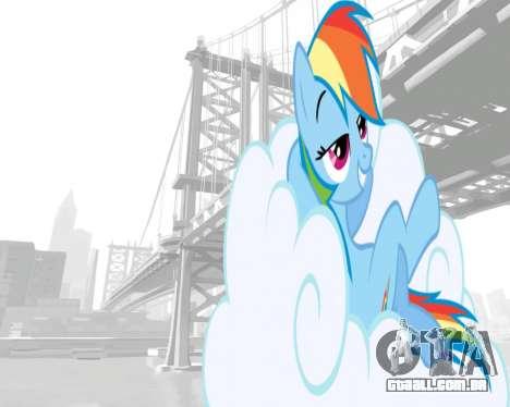 Arranque telas de My Little Pony para GTA 4 terceira tela