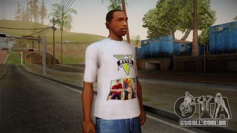 GTA 5 MFT T-Shirt para GTA San Andreas