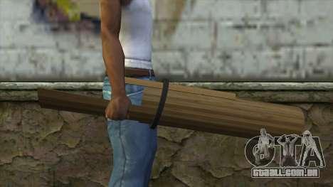 Senjata Kentongan Sahur para GTA San Andreas terceira tela