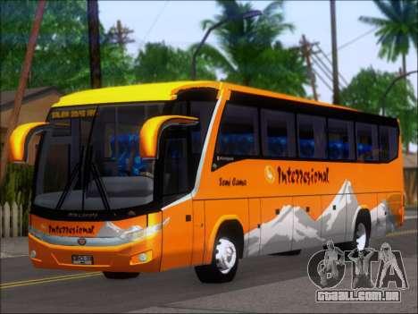 Marcopolo Viaggio 1050 G7 Buses Interregional para GTA San Andreas esquerda vista
