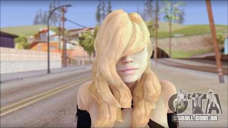 Rachel from Resident Evil Revelations para GTA San Andreas terceira tela