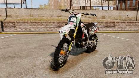 Yamaha YZF-450 v1.5 para GTA 4