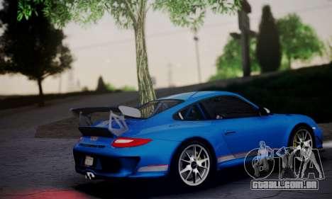Porsche 911 GT3 RS4.0 2011 para GTA San Andreas esquerda vista