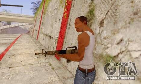 Cutscene M16 from Stowaway Conversion para GTA San Andreas segunda tela