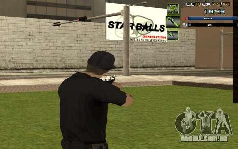 C-HUD by SampHack v.5 para GTA San Andreas terceira tela