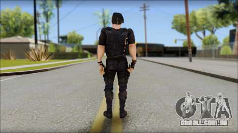 Barney Ross para GTA San Andreas segunda tela