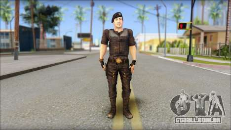 Barney Ross para GTA San Andreas
