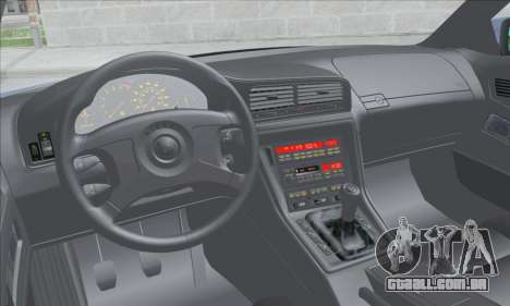 BMW E31 850CSi 1996 para GTA San Andreas vista interior