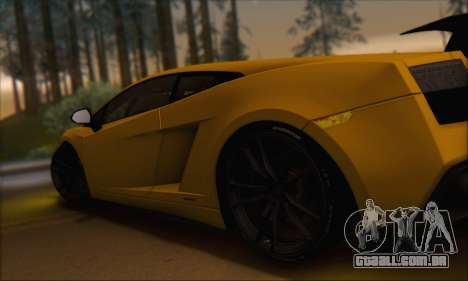 Lamborghini Gallardo LP570 Superleggera para GTA San Andreas interior
