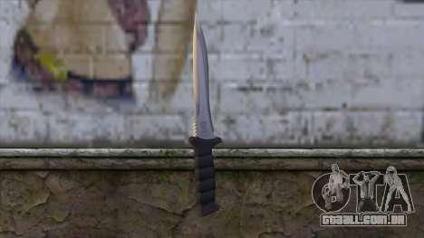 Knife from Resident Evil 6 v1 para GTA San Andreas segunda tela
