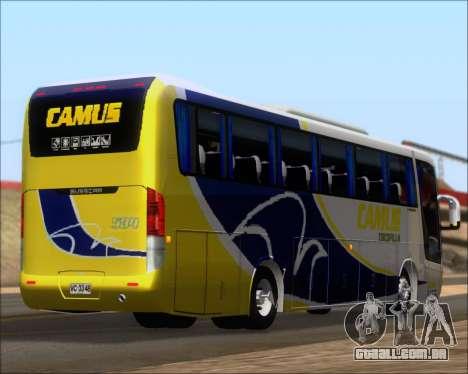 Busscar Vissta Buss LO Mercedes Benz 0-500RS para GTA San Andreas vista inferior