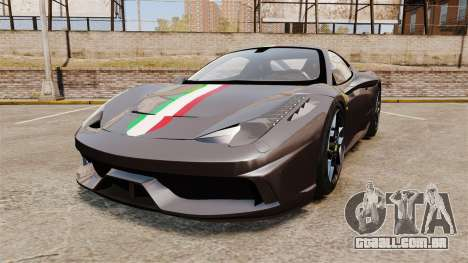 Ferrari 458 Italia Speciale Novitec Rosso para GTA 4