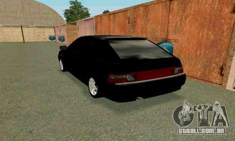 VAZ 21123 Turbo para GTA San Andreas esquerda vista