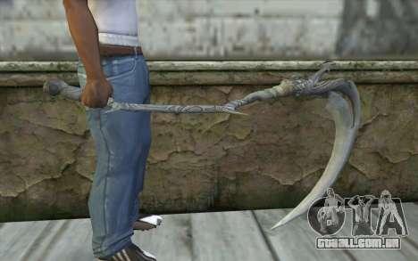 Orisis from DmC: Devil May Cry para GTA San Andreas terceira tela