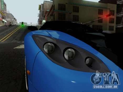 Honda NSX VeilSide para GTA San Andreas vista traseira