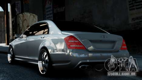 Mercedes-Benz S65 W221 AMG v1.3 para GTA 4 esquerda vista