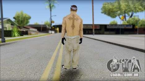OG Chicano Skin para GTA San Andreas segunda tela