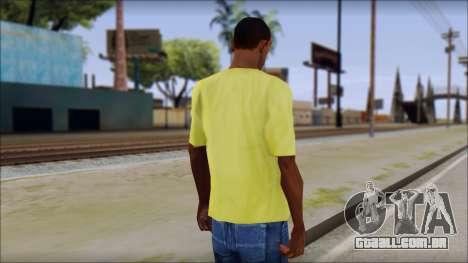 Waffle T-Shirt para GTA San Andreas segunda tela