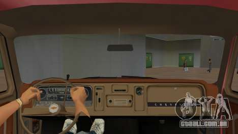 Chevrolet C10 para GTA Vice City vista direita
